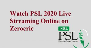 Watch PSL 2020 Live Streaming Online on PTV Sports