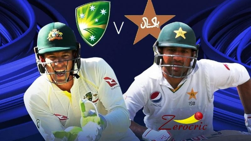 Pakistan V Australia: 1st innings results in 240 runs of Pakistan and Rizwans out on a no-ball