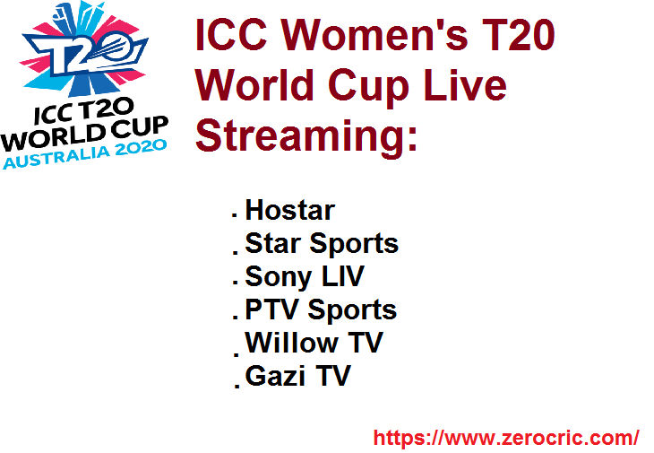 ICC Women's T20 World Cup Live: Streaming, Score, Schedule & TV Channels 2020